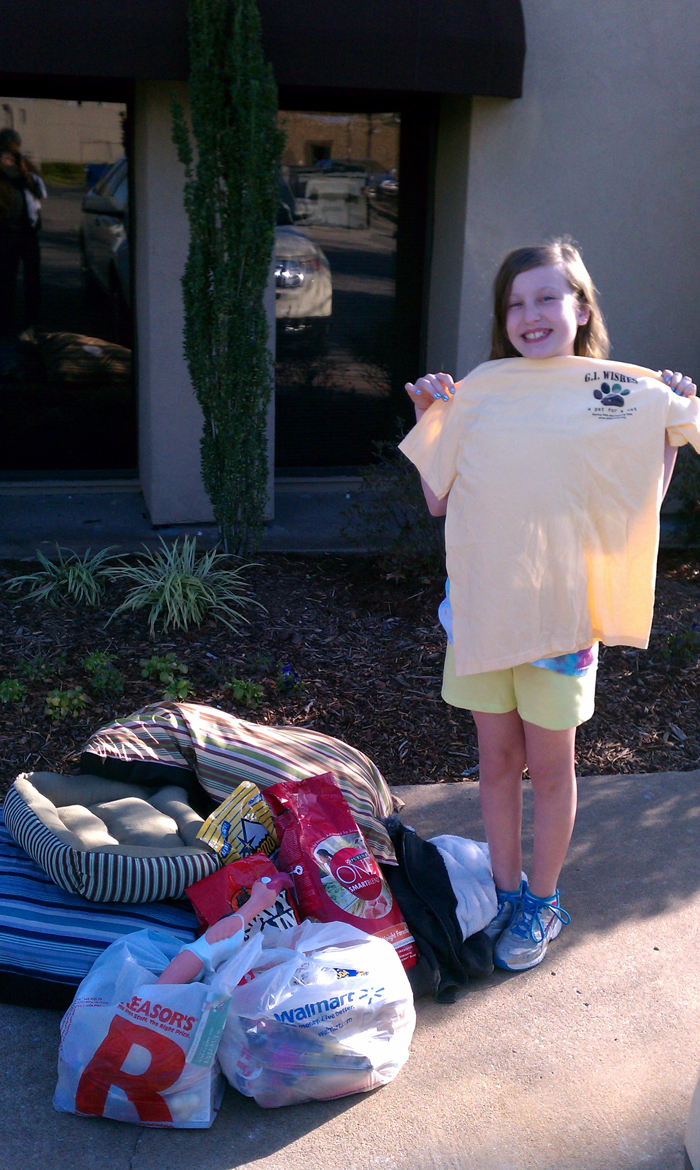 11 Year Old Asks For Donations Instead Of Birthday Presents